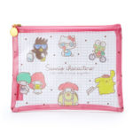 SRO Travel mesh flat pouch Sanrio Characters (P)