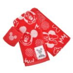 DSJ Mickeys Athlete Club Towel Muffler with wristband Mickey and Minnie