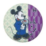 DSJ Japan Culture Tin Badge Mickey