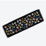 TDR Disney Besties Long Face Towel (Black)