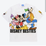 TDR Disney Besties T-Shirts S/M/L Japanese Adult Unisex  White