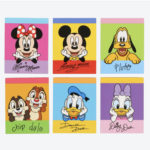 TDR Mickey and Friends Memo (Chin on hand)