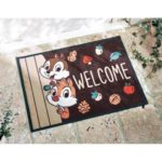 BEL Doormat Chip and Dale 59x82cm (23.2×32.3 inch)