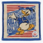 TDR Donald Marine Square towel 25(cm) / 9.84(inch)