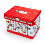 SRO Folding storage box with lid Hello Kitty