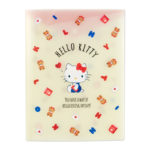 SRO A4 Pocket Clear file with gusset Hello Kitty