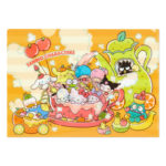 SRO Fruits Tea Sanrio Characters A4 clear file A