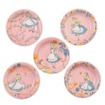 DSJ Garden mini round plate set Alice