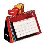 DSJ Pixar character Desk calendar  2021 All Star Popup