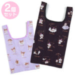 SRO Eco bag / Shopping bag Set Kuromi (Words)