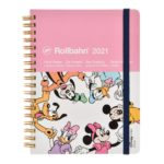 DSJ 【Delphonics】Mickey and Friends Rollbahn Schedule book / Planner 2021