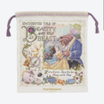 TDR ENCHANTED TALE OF BEAUTY AND THE BEAST Drawstring Pouch