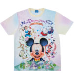 TDR NEW DREAM MORE FUN T-Shirts  (LL)  Japanese Adult Unisex