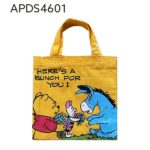 DSJ Winnie the Pooh Mini Tote / Shopping bag Flower Gift