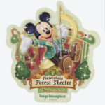 TDR NEW DREAM MORE FUN Forest Theatre Sticker