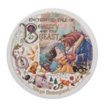 TDR ENCHANTED TALE OF BEAUTY AND THE BEAST Tin Badge