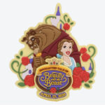 TDR NEW DREAM MORE FUN Beauty and the Beast Decoration Magnet