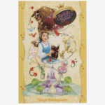 TDR NEW DREAM MORE FUN BEAUTY AND THE BEAST Postcard