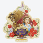 TDR NEW DREAM MORE FUN BEAUTY AND THE BEAST Sticker