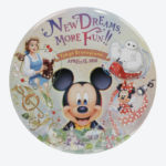 TDR NEW DREAM MORE FUN Tin badge