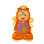 TDR ENCHANTED TALE OF BEAUTY AND THE BEAST Cogsworth Plush Badge