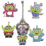 DSJ PIXAR FEST Alien / Little Green Costume Pierced Earring Set