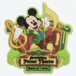 TDR NEW DREAM MORE FUN Forest Theatre Decoration Magnet