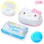 SRO Wet tissue with face-shaped case HelloKitty