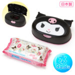 SRO Wet tissue with face-shaped case Kuromi