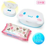 SRO Wet tissue with face-shaped case Cinnamoroll