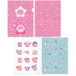 KID Kirby MUTEKI! SUTEKI! CLOSET Clear File set