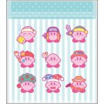 KID Kirby MUTEKI! SUTEKI! CLOSET Zipper Bag Stripe