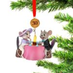 DSJ Ornaments 2020 The Rescuers Miss Bianca and Bernard Ornament