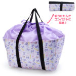 SRO Folding Keep cold and heat eco bag / shopping bag Kuromi