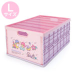 SRO Little Twin Stars Folding Storage Container with Lid (L)