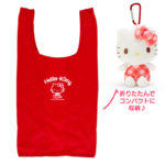 SRO Eco Bag / Shopping bag with plush case HelloKitty