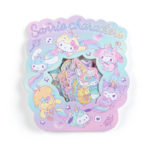 SRO Unicorn Party Sanrio Characters Flake Sticker
