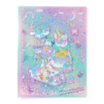SRO Unicorn Party Sanrio Characters A4 Clear File