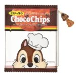 DSJ Chocochip Cookie Clear Pouch Chip and Dale