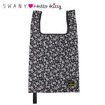 SRO SWANY x HelloKitty Eco Bag / Shopping Bag Black