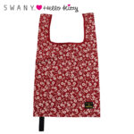 SRO SWANY x HelloKitty Eco Bag / Shopping Bag Red