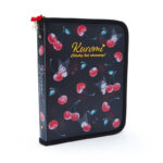 SRO HAPPINESS GIRL Kuromi A5 file case with zipper / document file