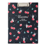 SRO HAPPINESS GIRL Kuromi A4 Clipboard (Cherry)