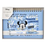 DSJ ARTIST COLLECTION by Kelly Park Minnie Mouse Ball pen and Notebook set
