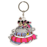 TDR Park Attractions Design Aquatopia Keychain Mickey and Minnie (dup)