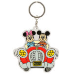 TDR Park Attractions Design Keychain Mickey and Minnie
