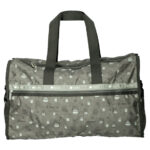 GHI x LeSportsac My Neighbor Totoro gray DELUXE LG WEEKENDER / Boston Bag (L)