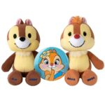 DSJ nuiMOs Plush Doll Chip and Dale with Clarice tin badge