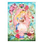 DSJ Alice in Wonderland Jigsaw Puzzle 108pieces Lovely warmth (Alice)