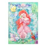 DSJ The Little Mermaid Jigsaw Puzzle 108pieces Nostalgic tone (Ariel)